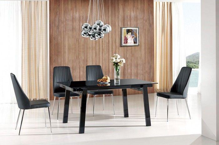 Jedálenský stôl Benedikt je výnimočný stôl, ktorý vás prekvapí svojim netradičným a moderným dizajnom. Je vyrábaný v neutrálnom vyhotovení v kombinácii skla...