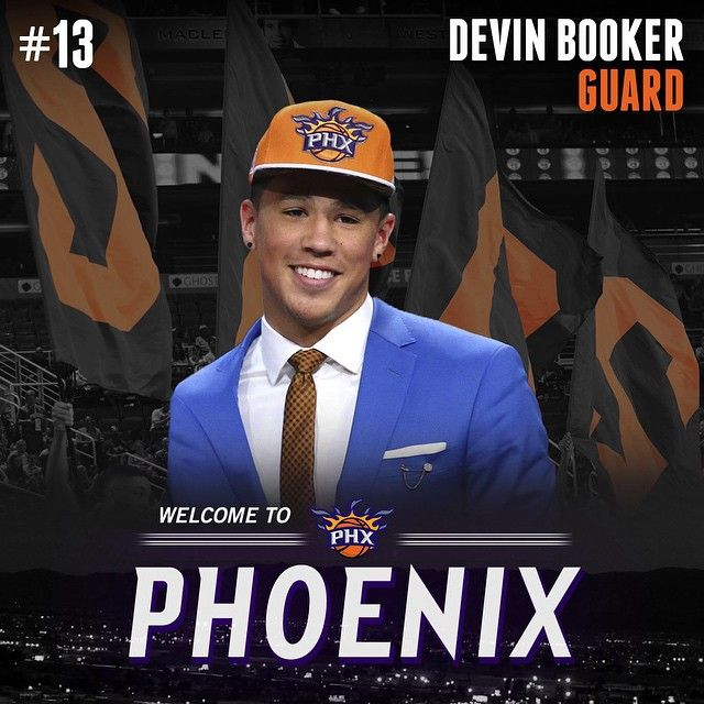 Like to welcome Devin Booker to the @suns! #SunsDraft