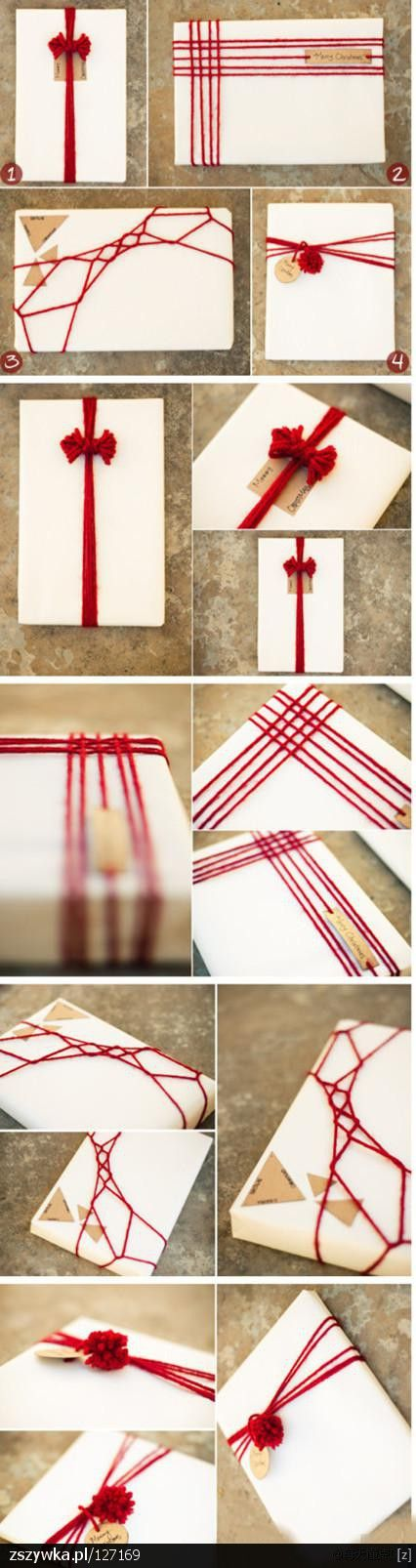 Alternative Christmas Present Wrapping ideas
