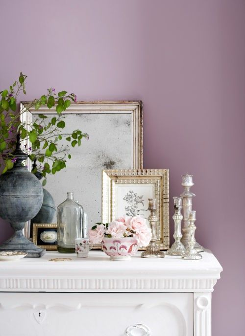 lovely pastel wall