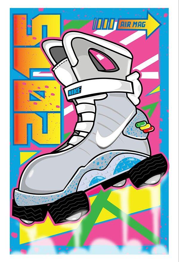 Nike Air Mag, Dope Cartoons, Nike Wallpaper, Rasta Lion, Bttf, Nba, Pencil,  To Draw