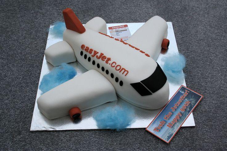 Plane cake — Birthday Cakes