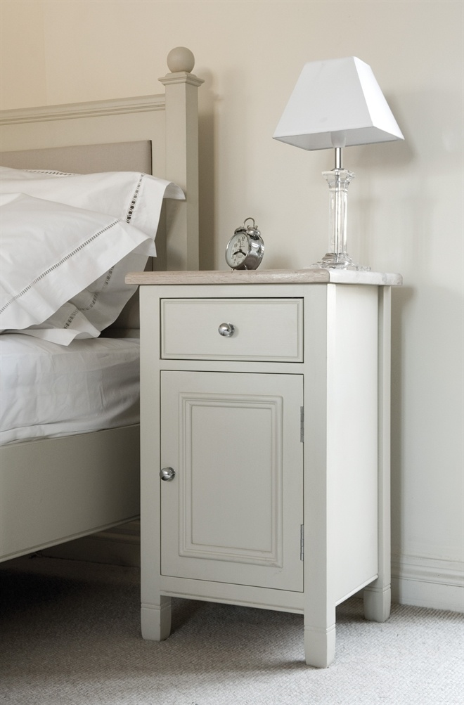 Neptune Bedroom Bedside Cabinets - Chichester Closed Bedside Cabinet