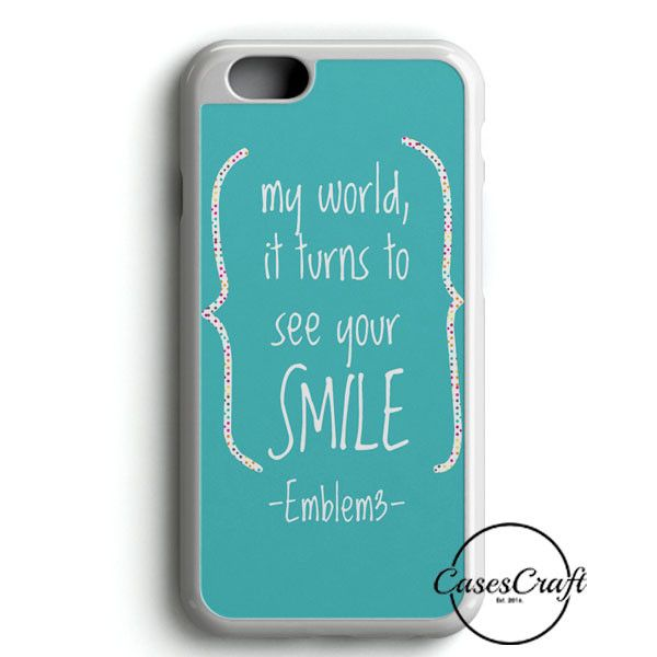 Emblem3 Lyric Cover iPhone 6/6S Case | casescraft
