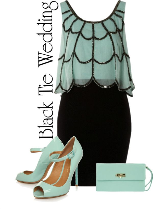 """What to Wear to a Black Tie Wedding?"" by jesswes on Polyvore"