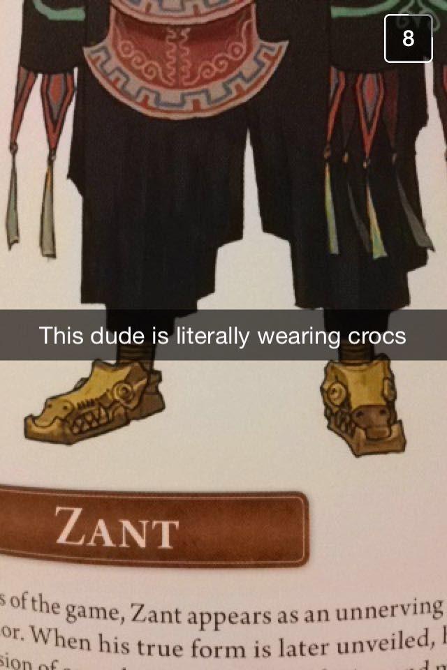 come on Zant