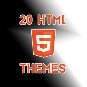 20 Responsive HTML5 Themes for FREE !!!