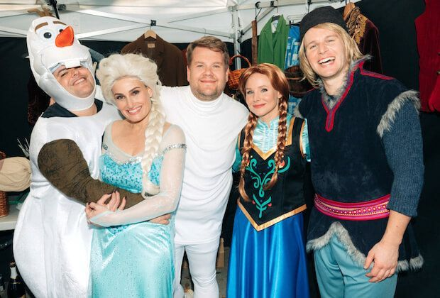 James Corden Directs Crosswalk The Musical Frozen With Images