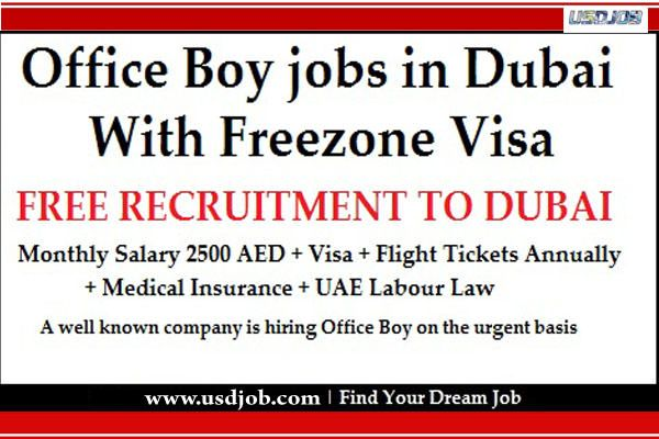 Office Boy Jobs In Dubai Job Dubai Medical Insurance