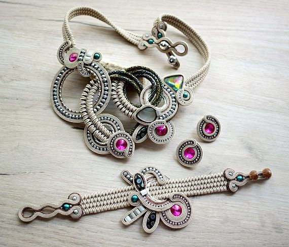 Hey, I found this really awesome Etsy listing at https://www.etsy.com/listing/532885030/light-cream-soutache-set-with-czech