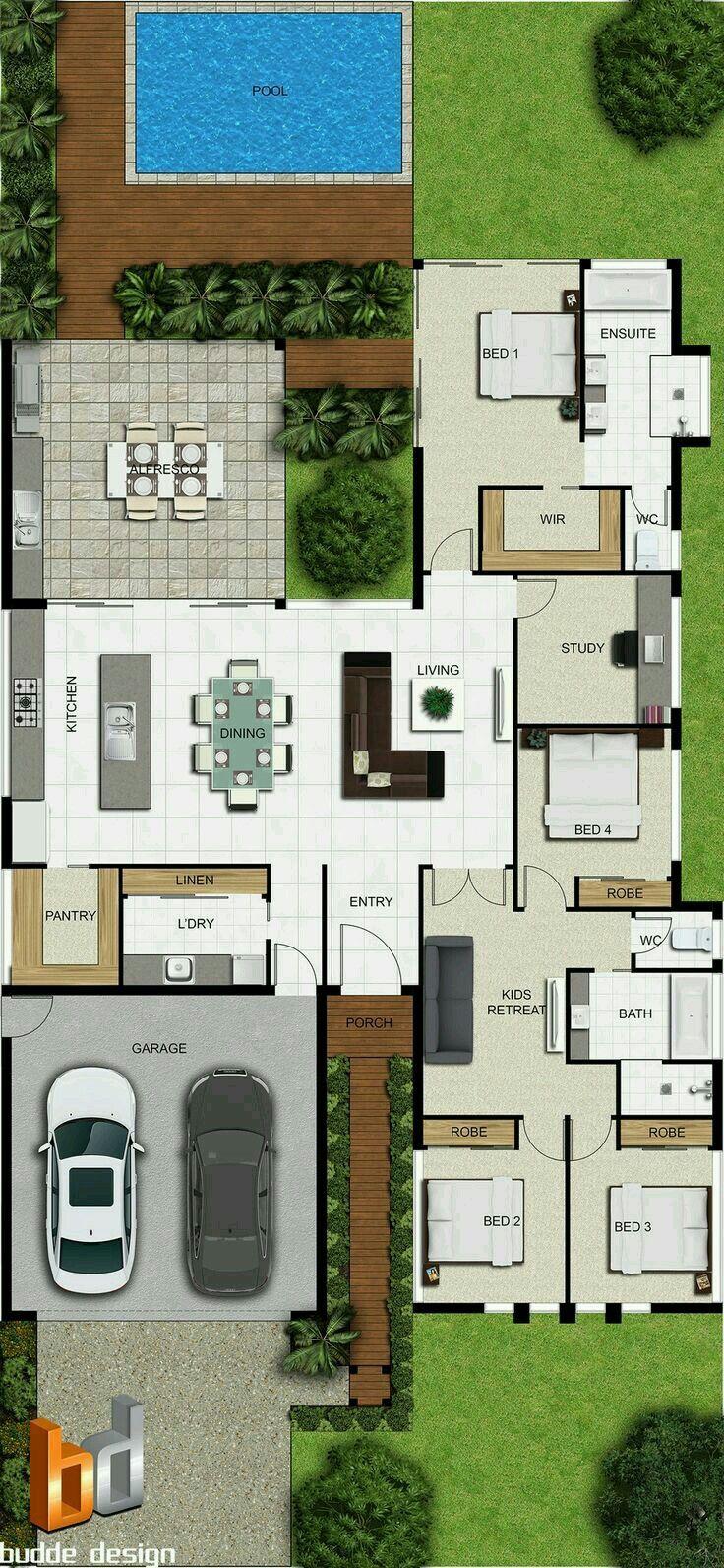Oltre 25 fantastiche idee su planimetrie di case su for Piani di garage di cottage