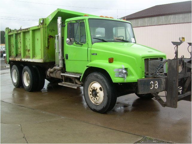 1998 Freightliner FL80 with a Cummins 8.3L/225 HP engine and an Allison MD-3560P automatic transmission and a 12 ft steel dump body. Please note: Trucks are sold as-is where-is with no warranty expressed or implied. Mileage advertised as listed on odometer, no maintenance records are available. All weights and measurements are approximated and are not guaranteed accurate for transportation.