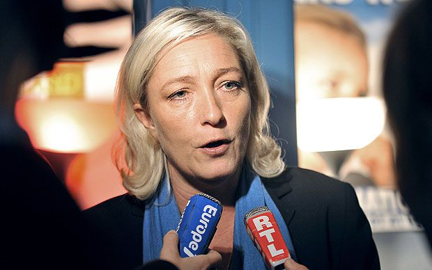 Marine Le Pen, the leader of the French far-Right, drew heavy criticism after   she said Muslims praying outside were like Nazi occupiers.