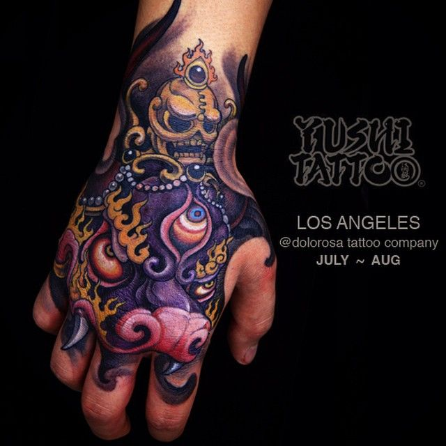 Hi there.I will be in Los angeles at my home shop @thedolorosatattoo in July to…                                                                                                                                                                                 Más