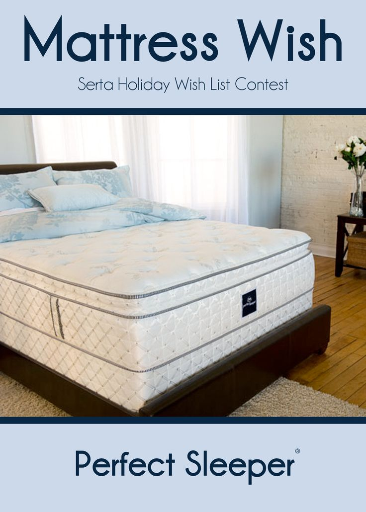 #PerfectSleeper, the Only Official Mattress of the National Sleep Foundation.