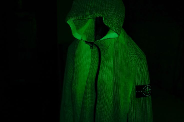 Stone Island | Phosphorescent Lined Hooded Knit | #StoneIsland #Phosphorescent #HAVENSHOP