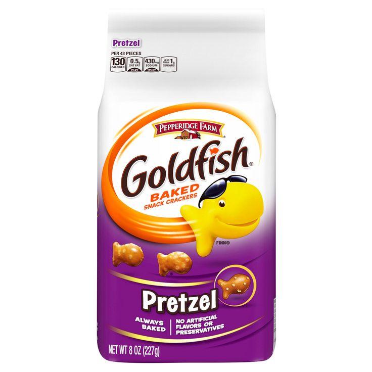 Pepperidge Farm Goldfish Pretzel Baked Snack Crackers - 8oz
