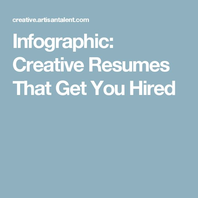 11 best Jobs images on Pinterest Career, Cover letters and College - resumes that get you hired