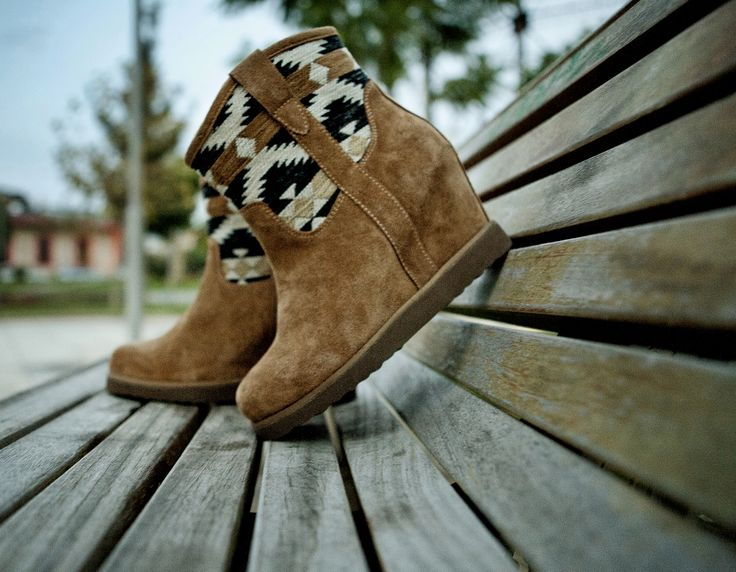 #Aztec #Fred #Ankle #Boots www.keepfred.gr