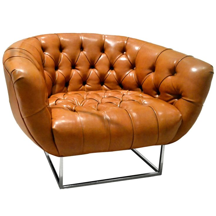 Baughman Leather Chair