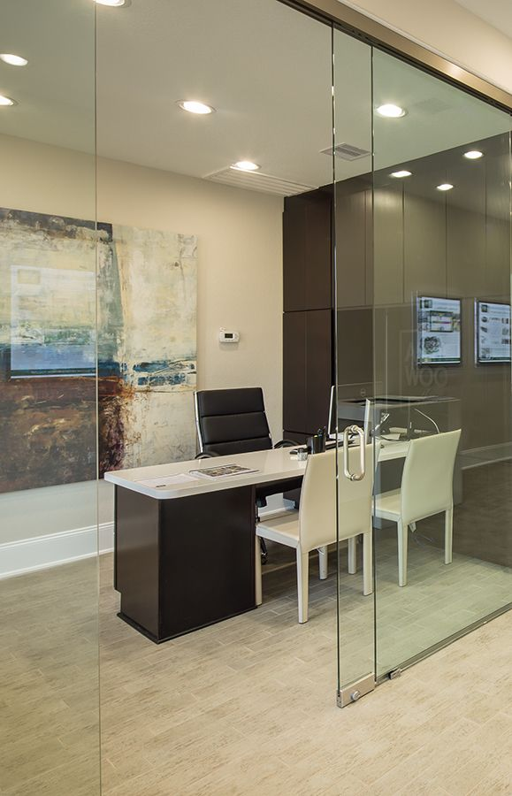 A Calming Earth Tone Palette, Natural Light, And Built In Shelves Pair  Nicely To Create A Productive Office Environment. Seen At Southern Trails  Beu2026