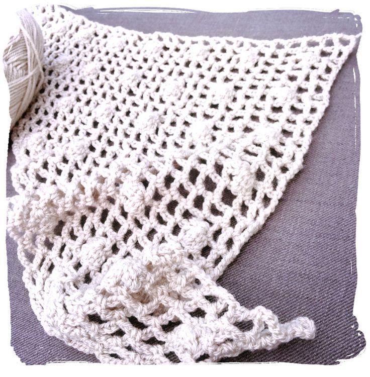 Mejores 64 imágenes de Crochet - Bufandas, cuellos y chales en ...