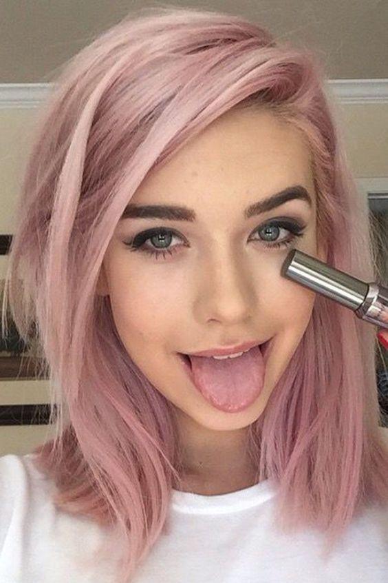 Tendenza pastello: rosa, rosa e ancora rosa! #hairtrend Colore capelli: le tendenze del 2016!: