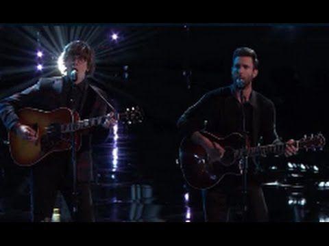 "Matt McAndrew ft. Adam Levine ""Lost Stars"" - THE VOICE USA 2014 FINALS (12/15/14) | FINALE - YouTube"