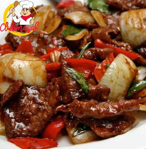Resep Hidangan Lauk, Tumis Daging Ala Jepang, Club Masak