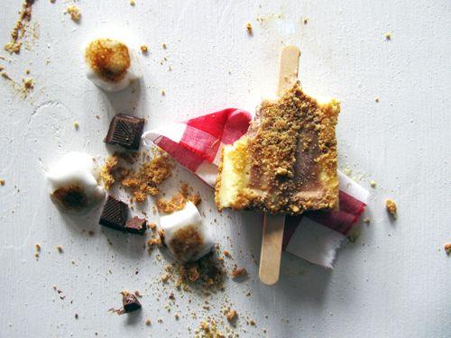 S'mores Pudding Pops // take a megabite