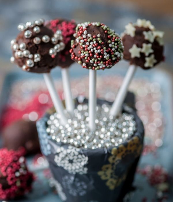 There is plenty of fun to be had and mess to be made with these chocolate truffle lollipops recipe. - Colin McGurran