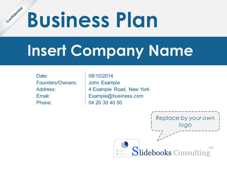 Best Simple Business Plan Template  By ExMckinsey Consultants