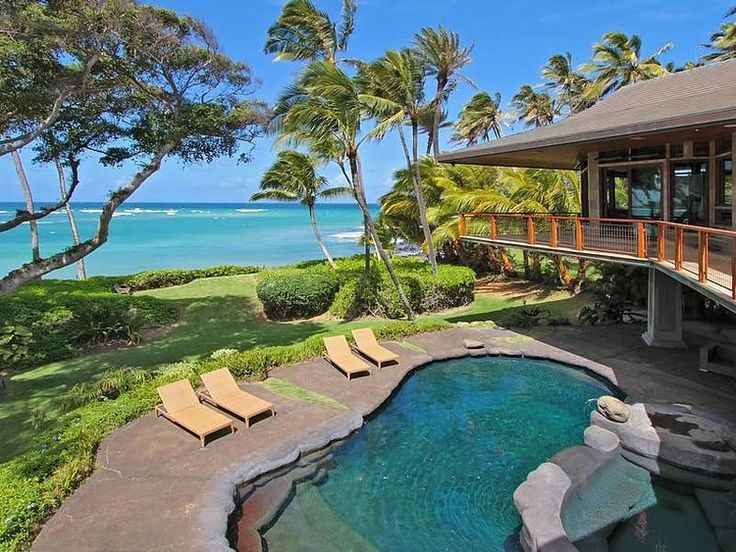 Dream Beachfront Home - Luxurious cantilevered beachfront property located in Paia, Hawaii. It's currently in offer by Sotherby's for $9.5 million.
