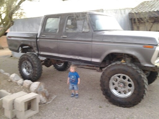 76 F 100 Two Door Converted To An F 350 Crew Cab Toys