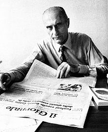 Indro Montanelli (1909-2001), periodista, escritor e historiador italiano. Premio Príncipe de Asturias de Comunicación y Humanidades, 1996.