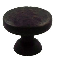 @Overstock - Finish: Oil rubbed bronze  Dimensions: 1.125 inches in diameter x 1 inch projection x 0.875-inch base  Sold in set of 25http://www.overstock.com/Home-Garden/GlideRite-Oil-Rubbed-Bronze-Round-Hammered-Cabinet-Knobs-Case-of-25/6172772/product.html?CID=214117 $33.99