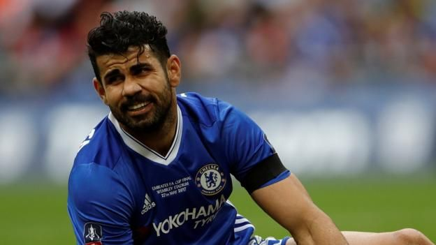 Costa scored 22 goals in 42 games in all competitions for the Premier League champions Chelsea striker Diego Costa says he has been told by manager Antonio Conte that he is no longer in the club's plans.  The 28-year-old scored 20 goals in 35 Premier League games to help the Blues win the...