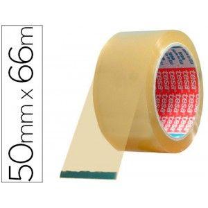 Pack de 6 cintas adhesiva Tesapack transparentes, perfectas para cerrar todo tipo de cajas, sobres o paquetes de una forma muy segura