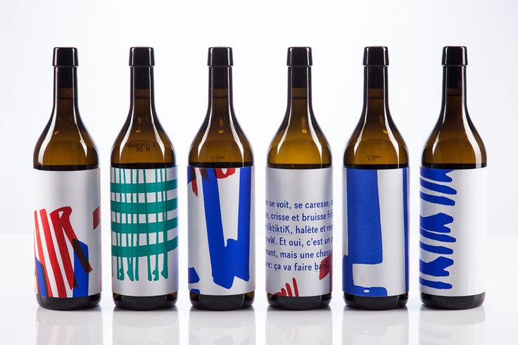 Visual identity and wine labels designed by Marks for Rendez-vous des créateurs 2014