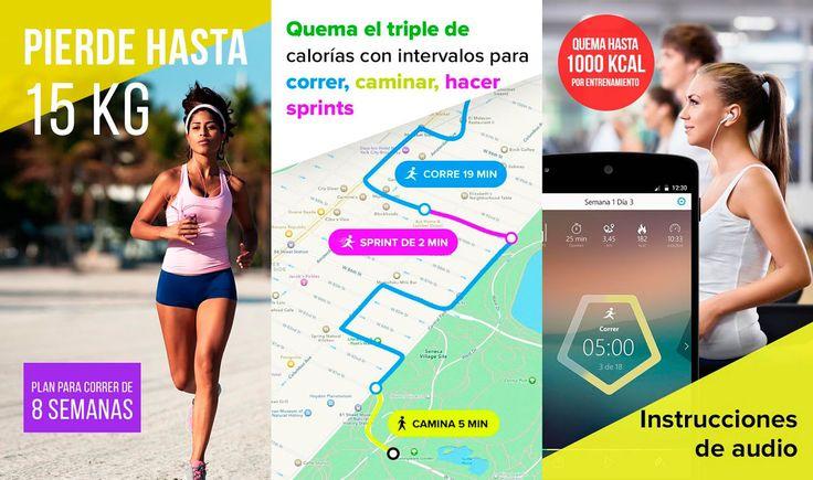 Correr para adelgazar, la app que te ayuda a correr para adelgazar