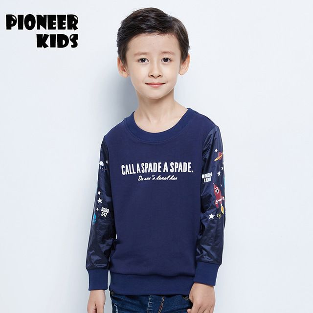Check current price Pioneer Kids New 2016 Kids Boys t Shirt Fashion Spring&autumn Long-sleeved T-Shirt Child letter Casual Tee Blouse Tops just only $16.22 with free shipping worldwide  #boysclothing Plese click on picture to see our special price for you