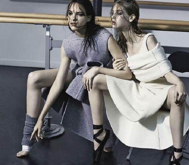 MadárJós: Fashion and Art - Visual Inspiration - Clarice Silva Vitkauskas and Jemma Baines
