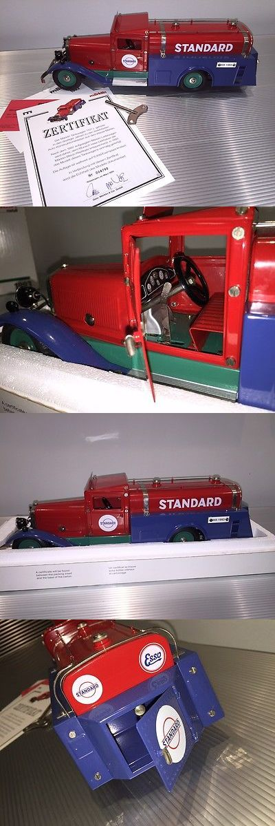 Wind-up Toys 74986: Vintage Marklin Tin Wind Up Standard Oil Tanker Truck Powerful Motor -> BUY IT NOW ONLY: $476 on eBay!