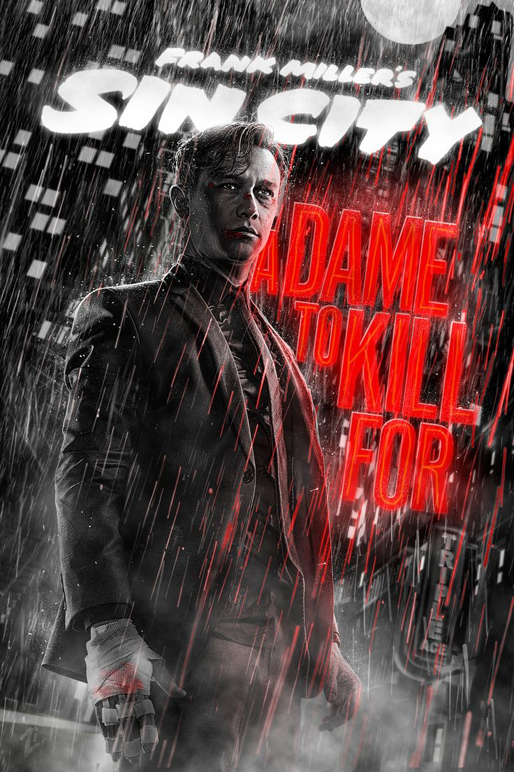 SIN CITY II: a Dame to Kill for | Movie posters on Behance