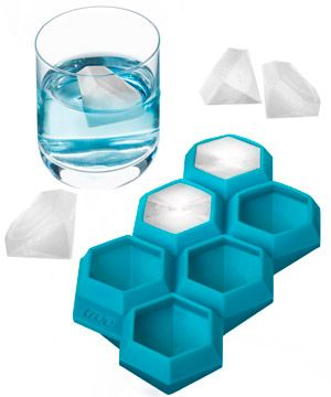 Iced Out Ice Cube Tray: Bling up your beverages.