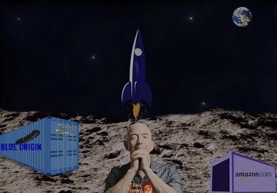 Z.Meck News: Um projeto de colonização na Lua... Jeff Bezos, que é diretor executivo da Amazon (empresa de comércio eletrônico dos Estados Unidos) e proprietário da empresa espacial Blue Origin, nessa semana em uma palestra ele informou que pretende fazer um assentamento na Lua. https://zmecknews.blogspot.com.br/2017/05/um-projeto-de-colonizacao-na-lua.html