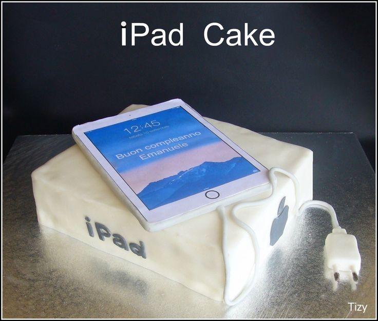 i Pad cake