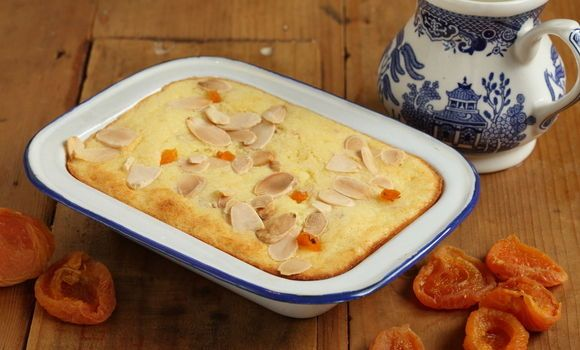 Maggie Beer's Apricot and Ricotta Baked Cheesecake