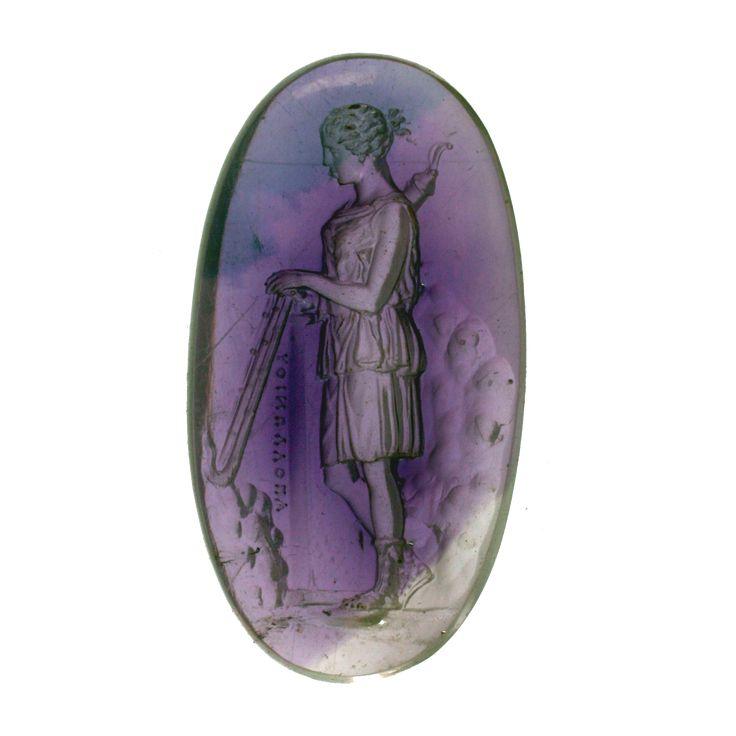 Artemis | amethyst gem by Apollonio, 16th c.