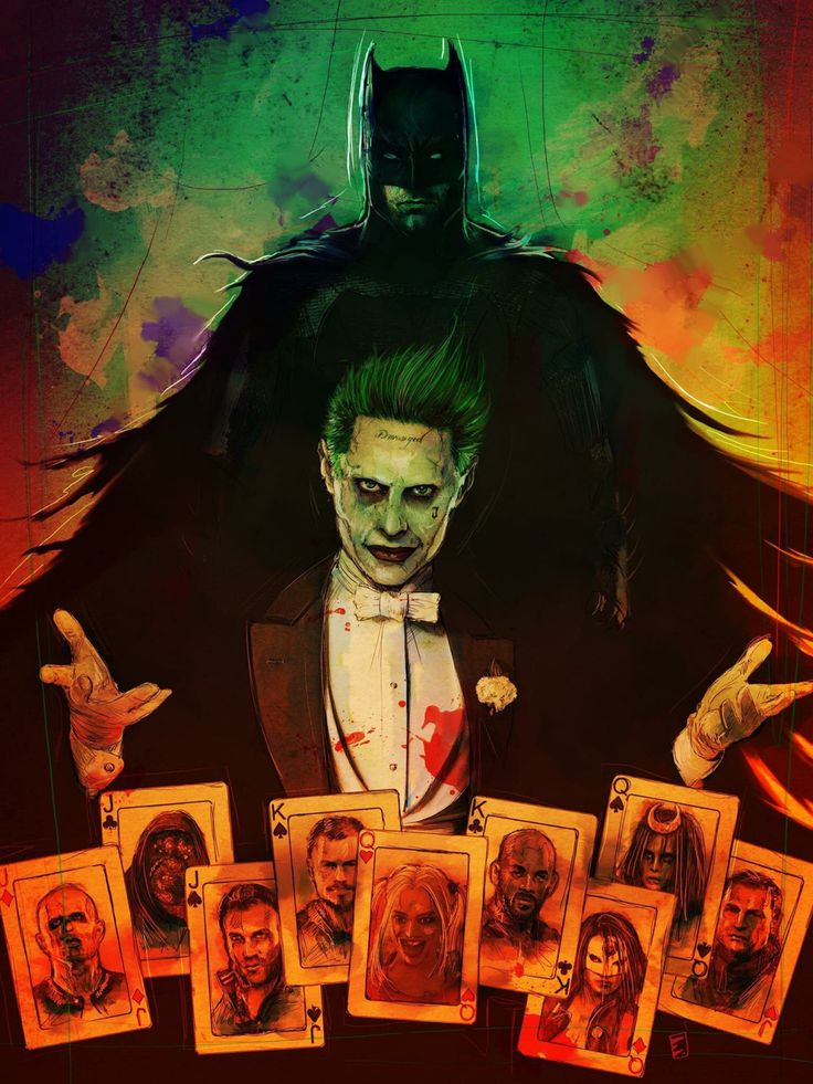 joker-eruri:   Suicide Squad - by Erik Wilson - Living life one comic book at a time.